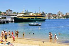 Sydney färjaSÖTVATTEN Royaltyfri Foto