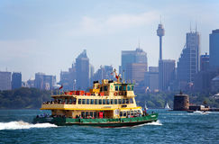 Sydney ferry Royalty Free Stock Photos