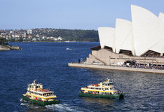 Sydney Ferry-Boats Immagine Stock