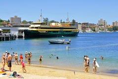Sydney ferry FRESHWATER Royalty Free Stock Photo