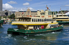 Sydney Ferry Friendship Stock Photo