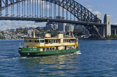 Sydney Ferry Lady Herron Fotos de Stock Royalty Free