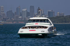 Sydney ferry at Watsons Bay Royalty Free Stock Image