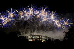 Sydney Firework Bridge Stock Photography