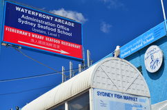 Sydney Fish Market stock afbeeldingen