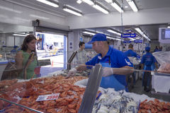 Sydney fish market Royalty Free Stock Image