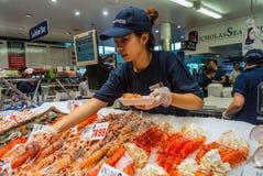 Sydney Fish market Stock Photography