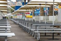 Sydney fish market terrace Stock Photography