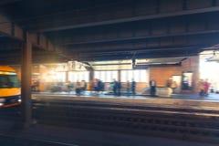 Sydney gångtunnelplattform Fotografering för Bildbyråer