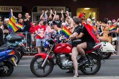 Sydney Gay och lesbisk kvinna Mardi Gras royaltyfri fotografi