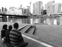 Sydney gaze Stock Photography