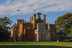 Sydney Government House Royalty Free Stock Image