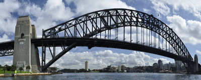 Sydney habour bridge Stock Image