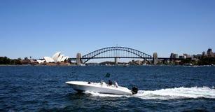 Sydney-Hafen-Brücke Stockbilder