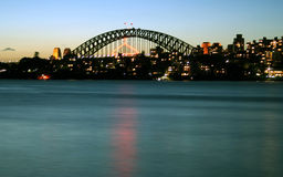 Sydney-Hafen-Brücke Lizenzfreie Stockfotos