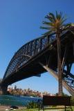 Sydney-Hafen-Brücke Stockfotografie