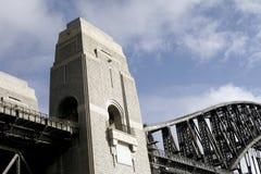 Sydney-Hafen-Brücke Stockfoto