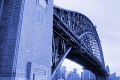 Sydney-Hafen-Brücke, Australien Lizenzfreie Stockfotos