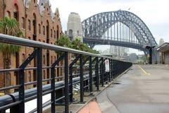 Sydney-Hafen-Brücke, Australien. stockfotos