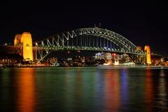 Sydney-Hafen-Brücke Lizenzfreie Stockbilder