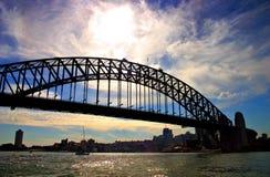 Sydney-Hafen-Brücke Lizenzfreies Stockfoto
