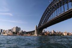 Sydney-Hafenbrücke Stockbild