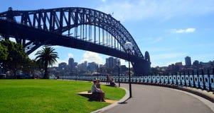Sydney-Hafenbrücke Stockfoto