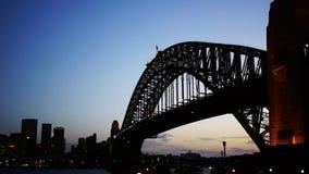 Sydney-Hafenbrücken-Zeitspanne stock footage