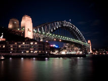 Sydney-Hafenbrücke Lizenzfreie Stockbilder
