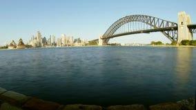 Sydney-HafenZeitspanne stock video