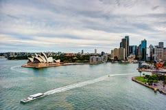 Sydney hamn Arkivfoton