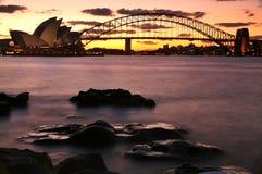 Sydney hamn Arkivbild