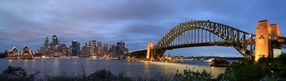 Sydney hamn Fotografering för Bildbyråer