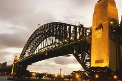 Sydney hamnbro Arkivfoton