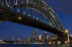 Sydney hamnbro Arkivbilder