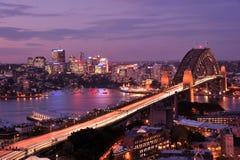 Sydney hamnbro royaltyfri fotografi