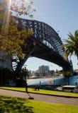 Sydney hamnbro Fotografering för Bildbyråer