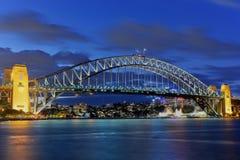 Sydney hamnbro Arkivfoto