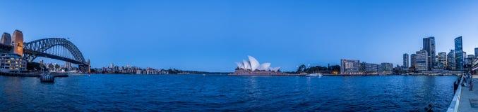 Sydney hamnskymning Royaltyfri Fotografi