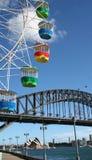 Sydney harbor bridge Stock Images