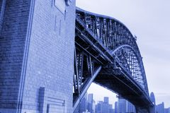 Sydney Harbor Bridge, Australia Royalty Free Stock Photos