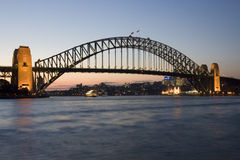 Sydney Harbor Bridge - Australia Royalty Free Stock Photos