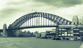 Sydney Harbor Bridge, Australia. Stock Images