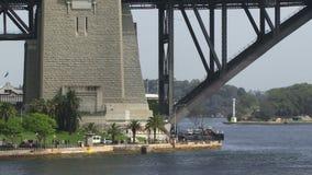 Sydney Harbor Bridge base stock footage