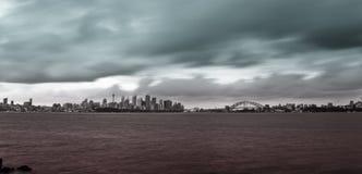 Sydney Harbor Bridge & Opera House Royalty Free Stock Photography