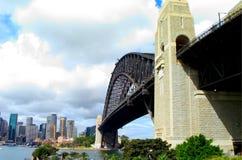 Sydney Harbor Bridge arkivbild