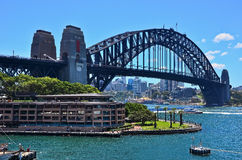 Sydney Harbor Bridge Stock Photography