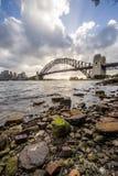 Sydney Harbor bridge. Royalty Free Stock Photography