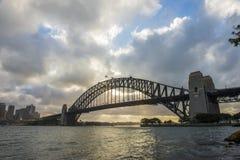 Sydney Harbor bridge. Stock Photos