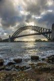 Sydney Harbor bridge. Royalty Free Stock Image